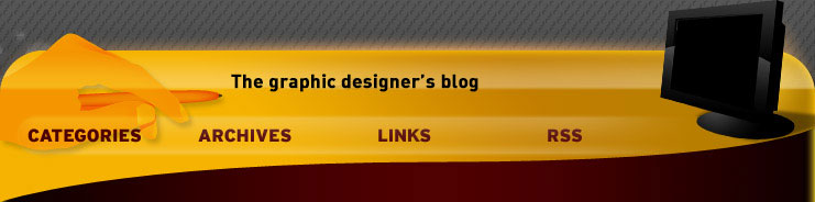 The graphic designer's blog. Blog about new technologies orbiting around graphic design